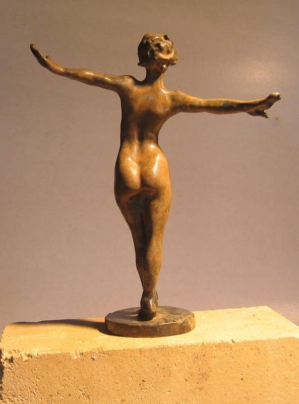 Bronze statuette